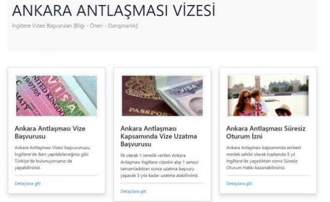 Ankara antlaşması vizesi nereden alınır?