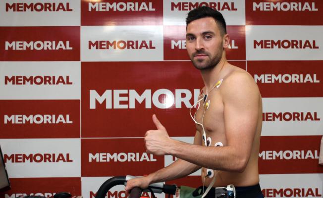 Antalyaspor'un yeni transferi sağlık kontrolünden geçti