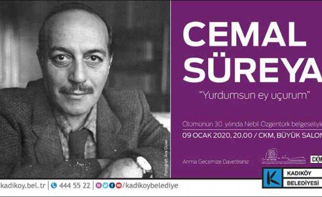 Cemal Süreyya ölümünün 30. yılında Kadıköy'de anılıyor