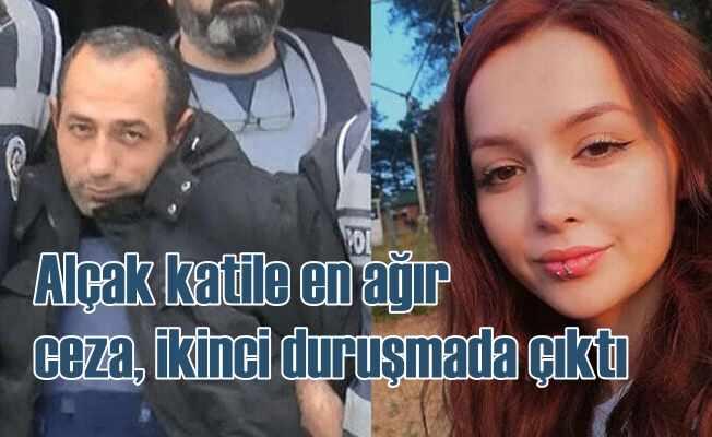 Ceren Özdemir cinayeti | Katile indirimsiz ağırlaştırılmış müebbet