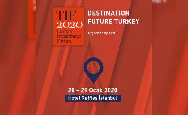 Dünyanın önde gelen otel markaları turizm yatırımları forumu için Türkiye'de