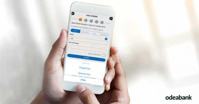 IBAN kopyalama ile Odeabank Mobil'den para göndermek çok kolay