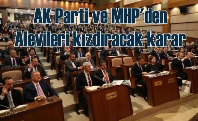 İBB Meclisi, AK Parti ve MHP oylarıyla Cemevleri'ne ibadet statüsü vermedi