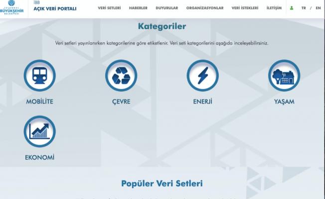 İBB,açık veri portalını hizmete sundu