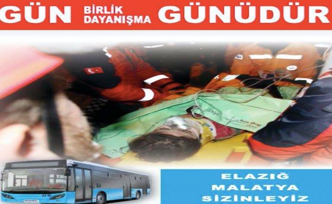 İstanbul'da ÖHO bugün seferleri Elazığ için yapılacak