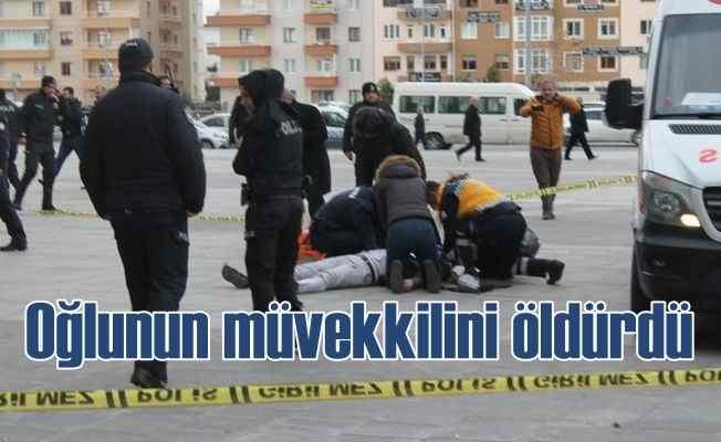 Kayseri Adliyesi önünde silahlı saldırı, Avukat oğlunun müvekkilini öldürdü