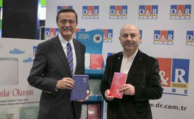 Kitap Vakfı ve Kanyon D&R'dan 'Okuduğum Kitaplar Defteri'