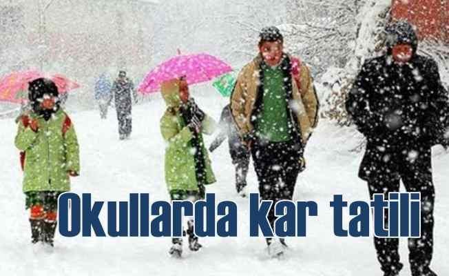 Okullar da kar tatili | Isparta, Eskişehir ve Kütahya'da kar tatili