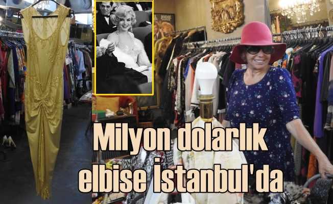 Vintage kraliçesi Eleni | Marilyn Monreo'nun milyon dolarlık kıyafeti İstanbul'da