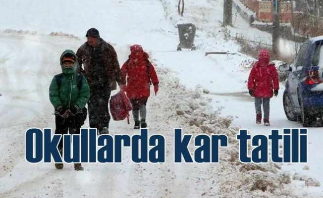 10 Şubat Pazartesi il il kar tatili haberleri | Hangi illerde okullar tatil