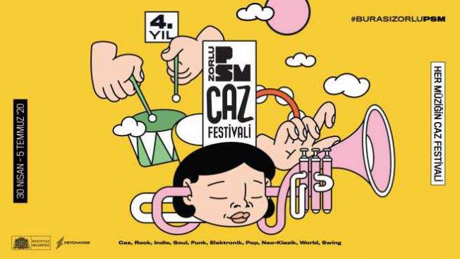 4. PSM Caz Festivali'nden dev line-up sürprizi!