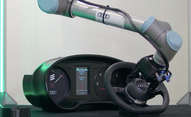 Audi'de robot ve insan birlikte çalışacak