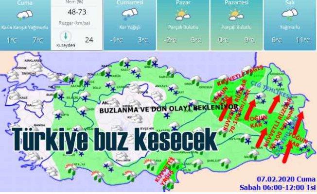 Bugün hava nasıl olacak? Türkiye soğuk ve karlı havanın etkisinde