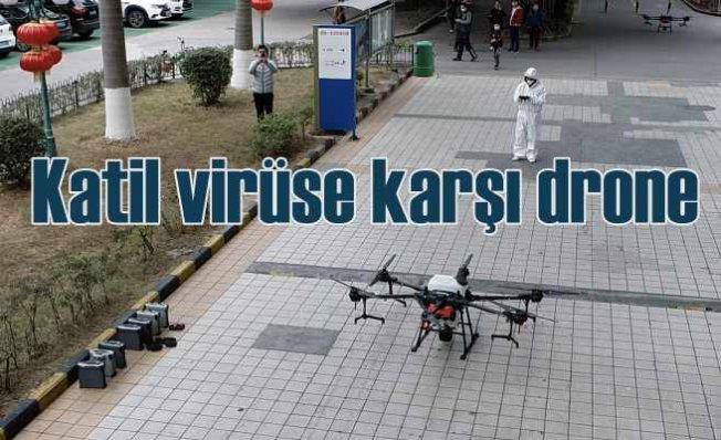 DJI o-dronlar Koronavirüs'le savaşıyor