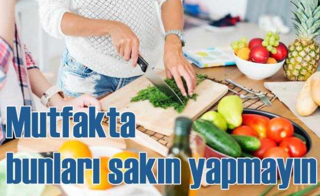 Gıda güvenliği konusunda sıklıkla yapılan hatalar