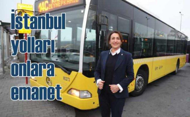 İstanbul'da İETT otobüsleri kadınlara emanet