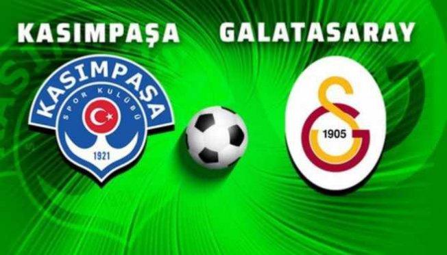 Kasımpaşa, Galatasaray'ı sahasında ağırlayacak