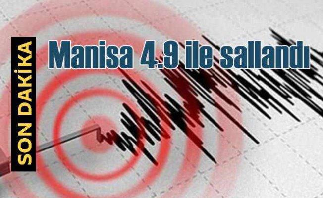 Manisa'da deprem, Kırkağaç 4.9 ile sallandı