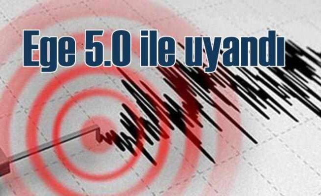 Manisa'da deprem oldu | Türkiye beşik gibi sallanıyor