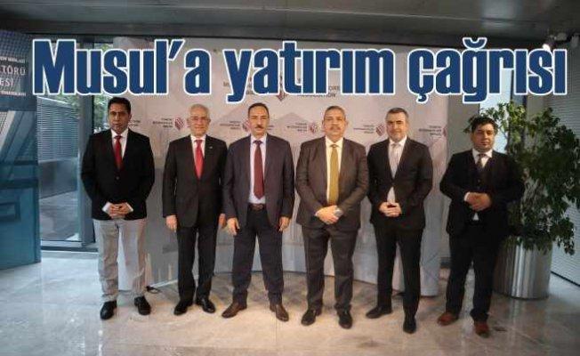 Musul, yeniden imar için Türk müteahhitleri bekliyor
