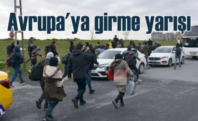 Onbinlerce mülteci Yunanistan ve Bulgaristan'a akın ediyor