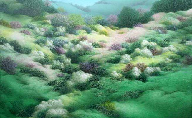 Reha Yalnızcık 40. sanat yılında 'Seyahatnameden' sergisi Galeri Diani'de