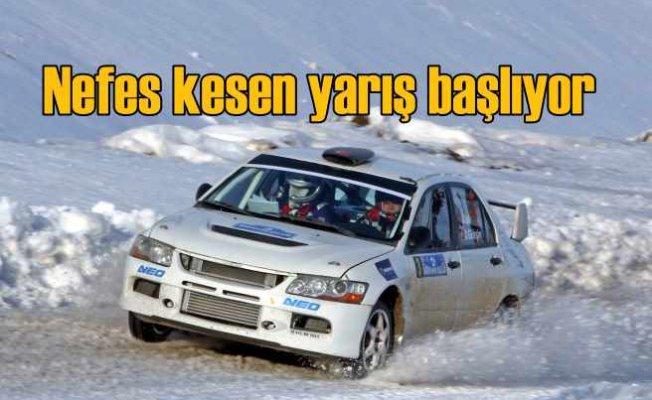 Sarıkamış Rallisi, Ralli sezonu karlar üzerinde açılıyor