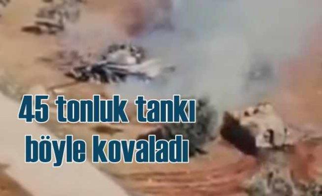 Suriye'nin 45 tonluk zırhlısını, 15 tonluk ZMA böyle kovaladı