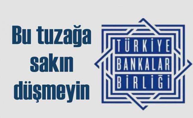 TBB logosuyla sosyal medyada dolandırıcılık girişimi
