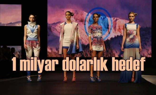 Türk modasının Fransa hedefi, 1 milyar dolarlık ihracat