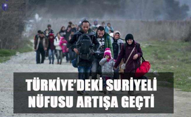 Türkiye'de Suriyeli nüfusu 3.5 milyonu geçti
