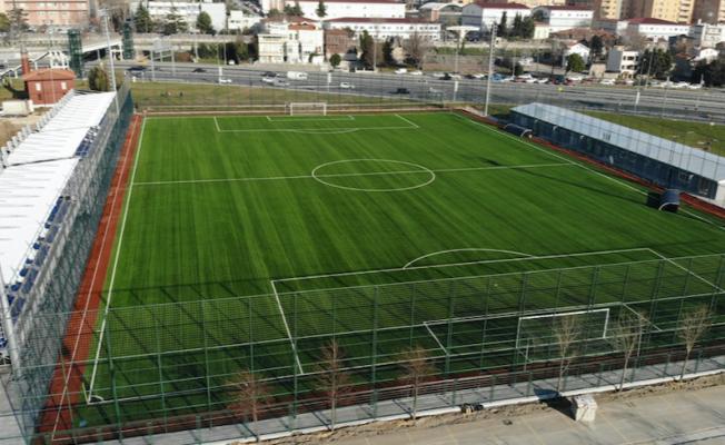 Yenikapı futbol sahaları Şubat'ta açılıyor