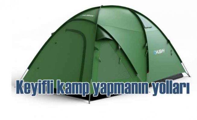 Baharda keyifli kamp yapmanın ipuçları