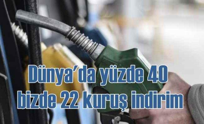 Benzin fiyatlarında indirim geliyor | 22 kuruş düşecek