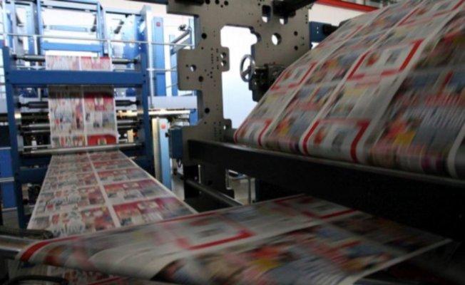 Bir gazete korona virüsü nedeniyle baskıyı durdurdu