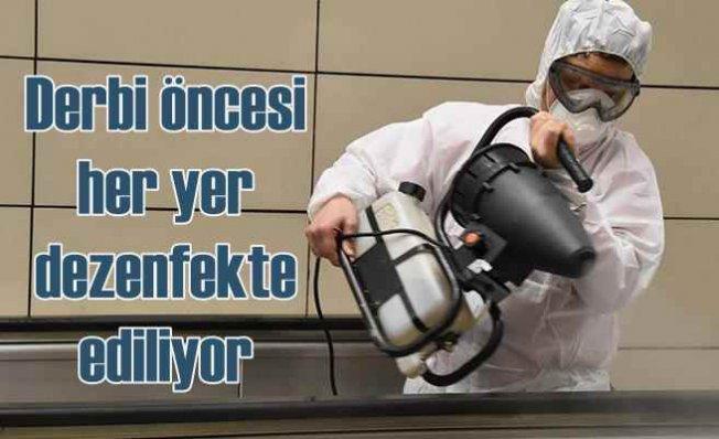 Derbi öncesi İBB'den koronavirüs önlemi