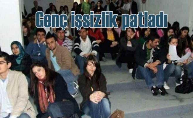 En büyük işsizlik gençlerde