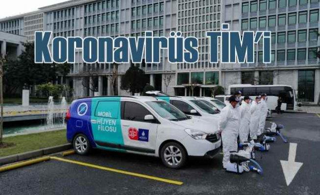 İBB'den hijyen seferberliği | Koronavirüs'e karşı temizlik TİM'i kuruldu