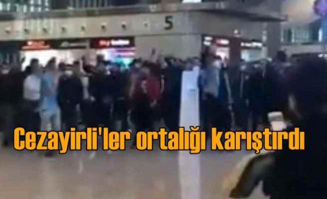 İstanbul Havalimanı'nda Cezayirli rezaleti
