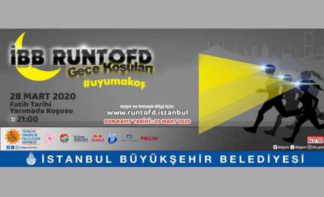 İstanbul Tarihi Yarımada'da gece koşusu