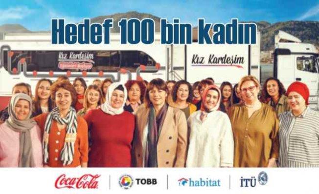 Kız Kardeşim Projesi ile Coca-Cola 100 Bin Kız Kardeş'e ulaşacak