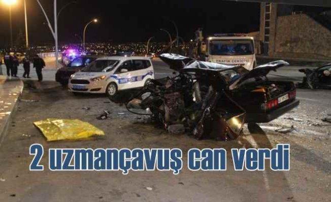 Konya Akyokuş'ta feci kaza, 2'si uzmançavuş 3 kişi can verdi