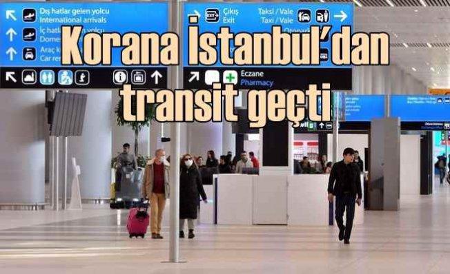 Koronavirüslü yolcu THY uçağıyla İstanbul'dan geçti