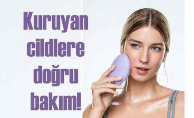 Kuruyan cildinizi doğru bakım ile tazeleyin