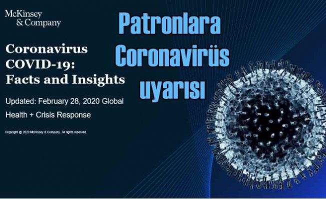 McKinsey, iş dünyası için corona virüsüne karşı 7 temel eylem önerisinde bulundu