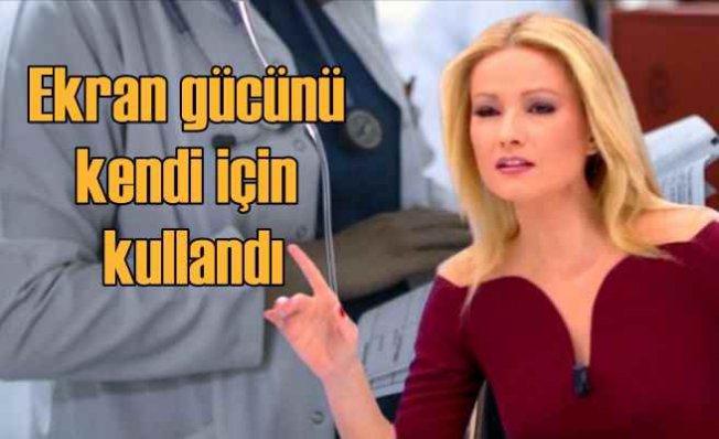 Müge Anlı'nın şımarıklıgı sağlık çalışanlarını isyan ettirdi