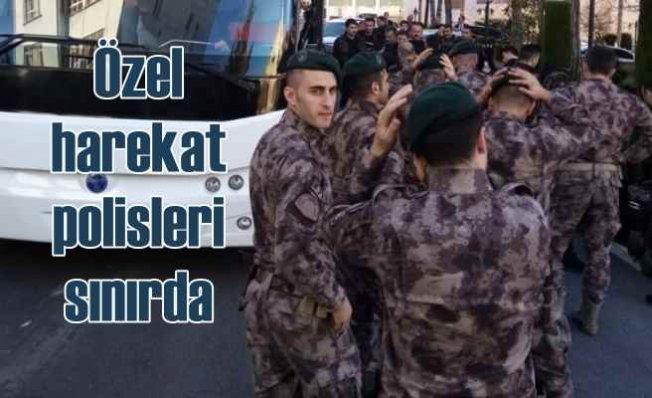 Özel harekat polis ekipleri Yunan sınırında