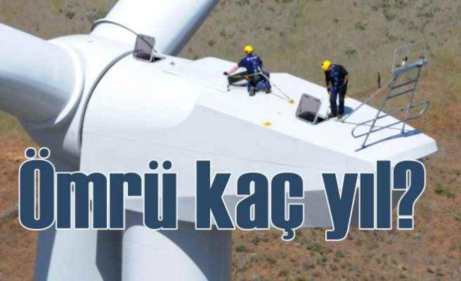 Rüzgar türbinlerinin ömrü ne kadar?   Rüzgar türbinlerinin bakımı