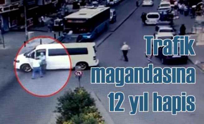 Ters şerit magandasının yumruklu cinayetine 12 yıl hapis