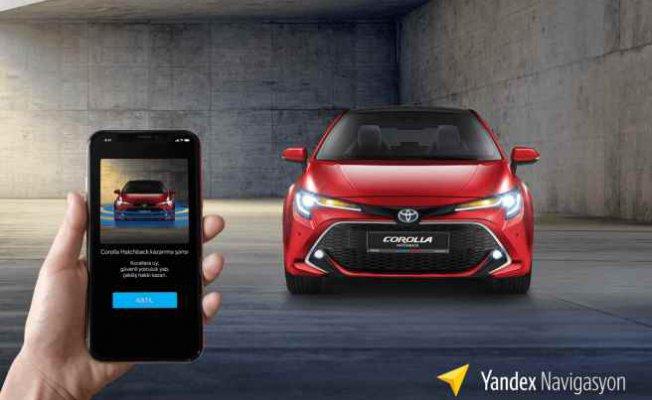 Yandex Navigasyon ve Toyota'dan, Yeni Corolla Hatchback ödüllü kampanya